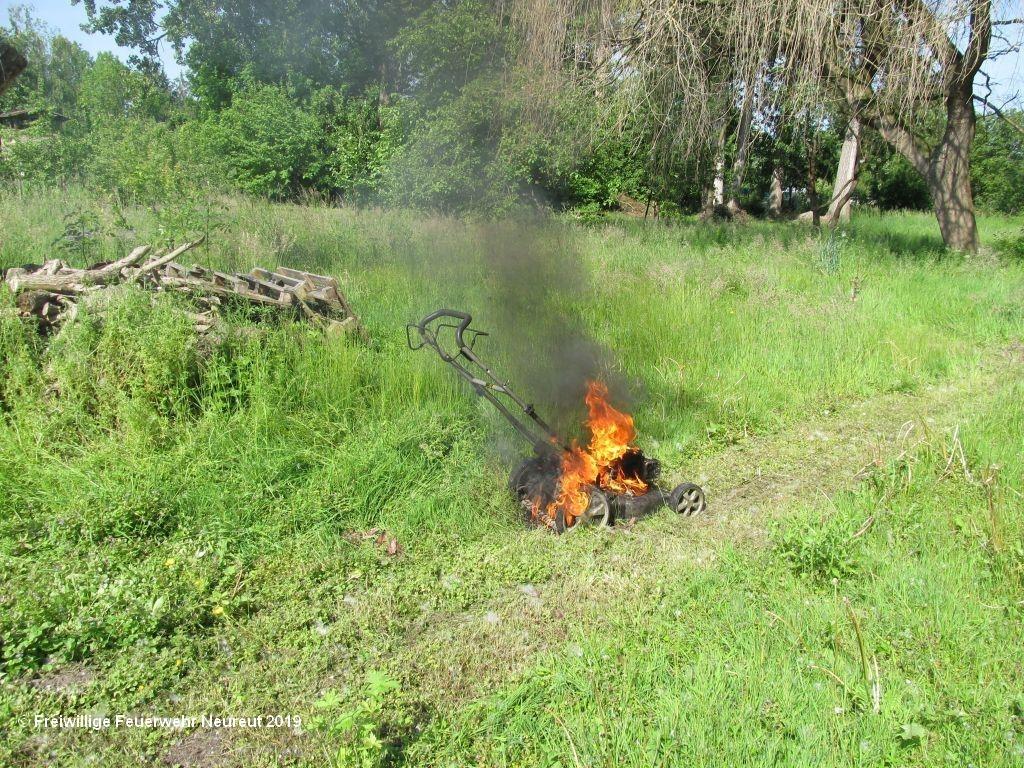 Brand Kleineinsatz